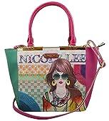 Nicole Lee SUZY PRINT TOTE BAG