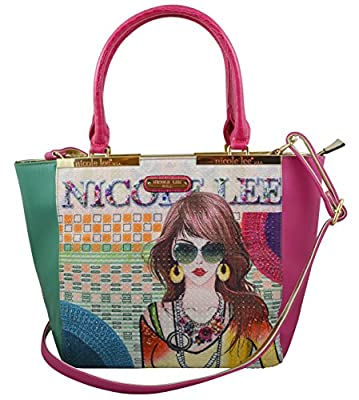 Nicole Lee SUZY PRINT TOTE BAG