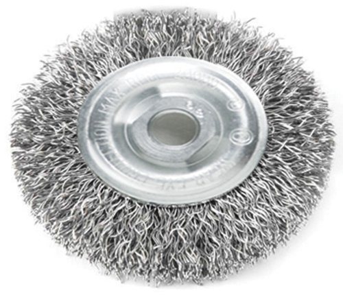 Right Angle Wheel : Mercer abrasives crimped wire wheel for right angle