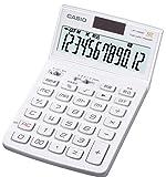 カシオ デザイン電卓 ジャストタイプ 12桁 JF-V200WE-N リッチホワイト