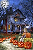 Toland Home Garden  Spooky Manor 28 x 40-Inch Decorative USA-Produced House Flag