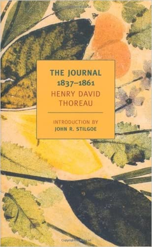 The Journal of Henry David Thoreau, 1837-1861 (New York Review Books Classics) written by Henry David Thoreau