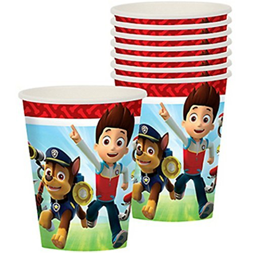 Paw Patrol 9oz Paper Cups (8ct)