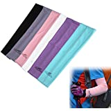 Generic Arm Sleeves Cover UV Sun Protection Golf Bike Outdoor Sports-parent