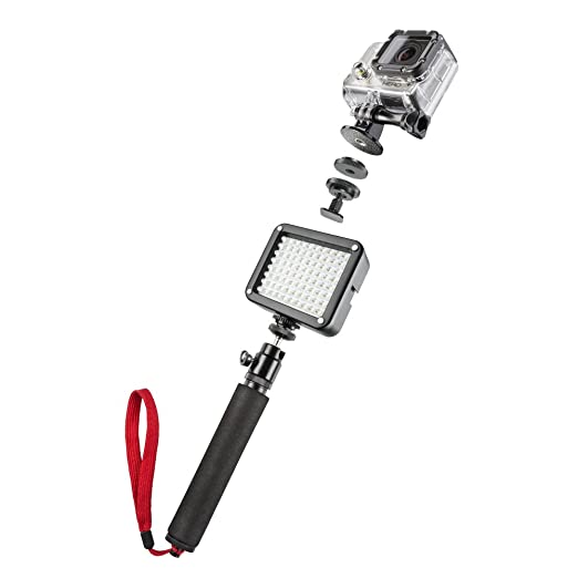 mantona Beleuchtungsset Selfie pour GoPro
