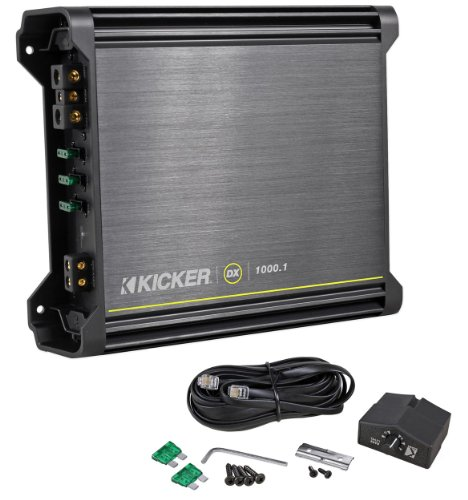 "Brand New Kicker 11Dx10001 Dx Series Mono 1000 Watt Rms Power Class ""D"" Car Audio Amplifier With Led Power And Protect Indicators"
