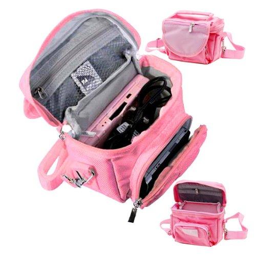 Vktech Travel Bag Carry Case For Nintendo Nds 3Ds Ds Lite Dsi With Shoulder Strap New