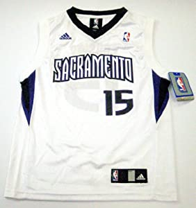 DeMarcus Cousins Sacramento Kings #15 NBA Youth Jersey White by adidas