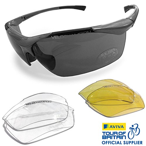 VeloChampion Tornado Cycling Running Sports Sunglasses
