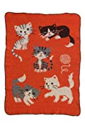 Green 3 Apparel Recycled USA-made Kitties Throw