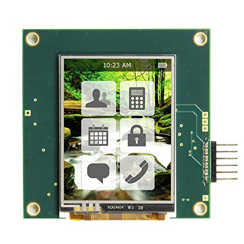 Emb024Tftdemo - Embedded 2.4 Inch Tft Demo Board With Microchip Pic24Fj256Da210