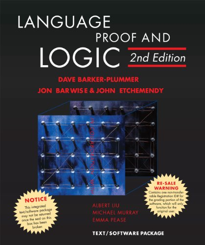 Amazon.com: Language, Proof, and Logic: 2ND Edition (9781575866321): David Barker-Plummer, Jon Barwise, John Etchemendy: Books