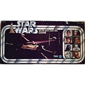 Star Wars Escape From Death Star 1977 Board Game!
