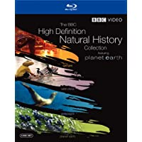 The BBC High Definition Natural History Collection (Planet Earth / Wild China / Galapagos / Ganges) [Blu-ray]