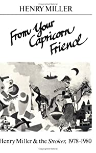 "Cover of ""From Your Capricorn Friend: Hen..."