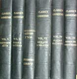 Clarke's Commentary:The Holy Bible Containing the Old and New Testaments with a Commentary and Critical Notes (6 Volume Set)