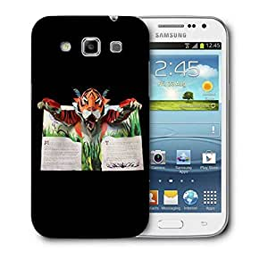Snoogg Tiger From The Book Designer Protective Back Case Cover For Samsung Galaxy Win i8552