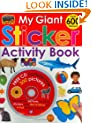 My Giant Sticker Activity Book (with CD)