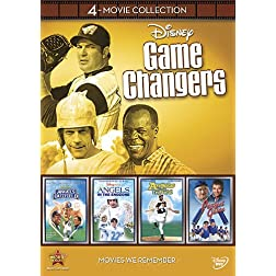 Disney 4-Movie Collection: Game Changers (Angels in the Outfield / Angels in the Infield / Angels in the Endzone / Perfect Game)