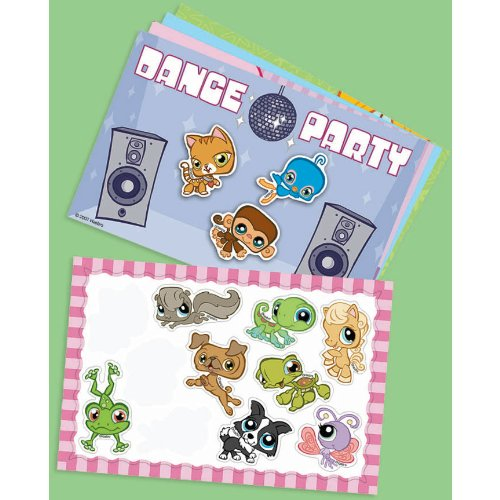 Kidspartyworld.Com Littlest Pet Shop Magnet Scenes - 4/Pkg. by Amscan