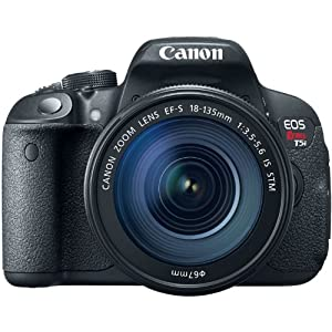 Canon EOS Rebel T5i 18.0 MP CMOS Digital Camera with 3-inch Touchscreen and Full HD Movie Mode
