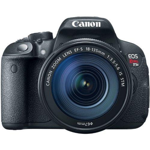 Canon EOS Rebel T5i Digital SLR with 18-135mm STM Lens