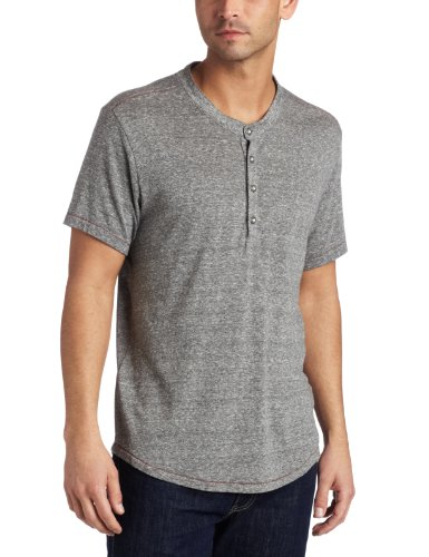 AG Adriano Goldschmied Vintage Short Sleeve Henley Shirt