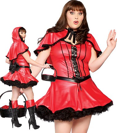 Roma Costume Women's Red Hot Riding Hood Plus Fairy Tale Costumes Plus Size For