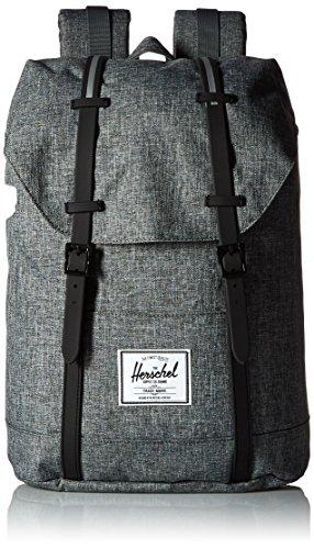 Herschel Supply Company SS16 Casual Daypack, Zaino, Multicolore (Raven Crosshatch/Black), Taglia 19.5 Litri