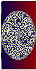 Outstanding multicolor printed protective REBEL mobile back cover for Nokia Lumia 920 D.No.N-R-3209-N920