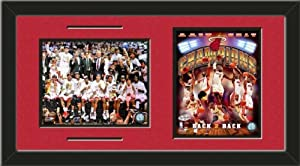 Miami Heat 2013 NBA Championship Framed Photos Collage by Art and More, Davenport, IA