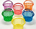 12 Bright Coloured Plastic Easter Egg...