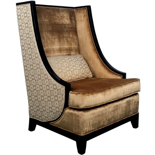 Timeless Reflections High Back Accent Chair Cheap