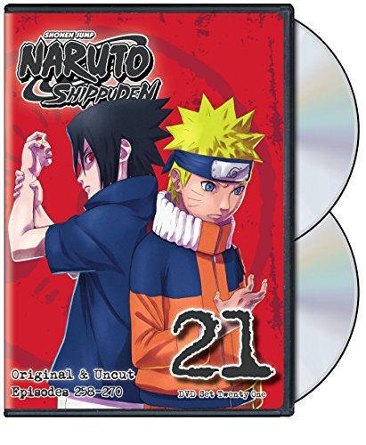 NARUTO -ナルト- 疾風伝 第21巻 / Naruto Shippuden Uncut Set 21 [DVD]