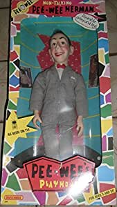 non talking pee wee herman doll with poseable arms and legs toys games. Black Bedroom Furniture Sets. Home Design Ideas