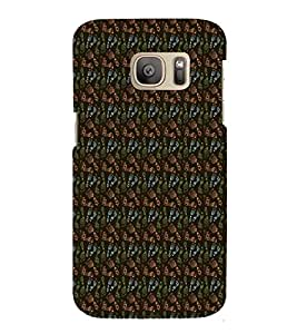 Footprint Pattern 3D Hard Polycarbonate Designer Back Case Cover for Samsung Galaxy S7 Edge :: Samsung Galaxy S7 Edge Duos G935F
