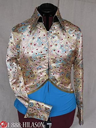 Jacket shirt Western Horsemanship Fabric Showmanship