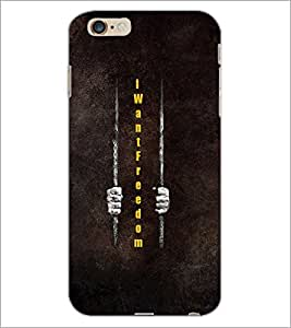 PrintDhaba Quote D-3325 Back Case Cover for APPLE IPHONE 6 PLUS (Multi-Coloured)