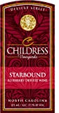 NV Childress Vineyards Starbound North Carolina Blueberry Dessert Wine 375 mL