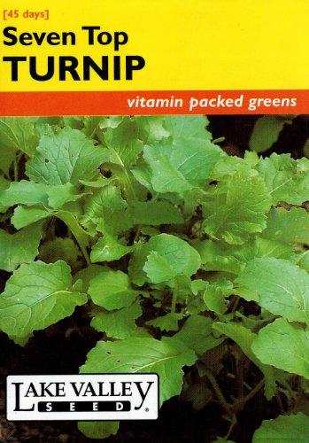 Lake Valley 312 Turnip Seven Top Greens Heirloom Seed Packet