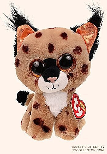 61d14827374 Ty Beanie Boos Plush Animals Buckwheat The Lynx 6 Inch