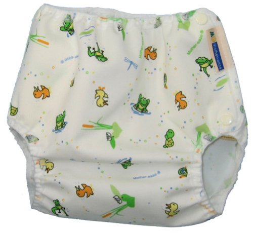 Mother-Ease One-Size Cloth Diaper Cover (X-Large (35-45 lbs), Wetlands)