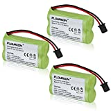 Floureon 3X Uniden BT-1007 Cordless Phone Battery Replacement - Battery 1800mAh