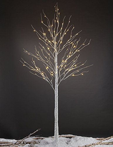 Lightshare 132L LED Birch Tree, 8-Feet (Lighted Led Tree compare prices)
