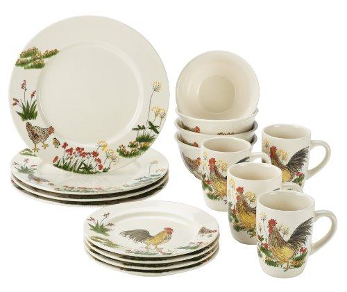Paula Deen Signature Dinnerware Southern Rooster