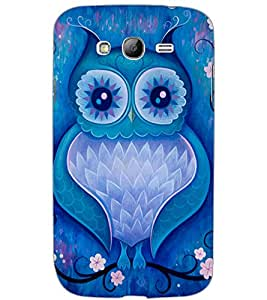 SAMSUNG GALAXY GRAND OWL Back Cover by PRINTSWAG
