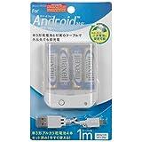 インプリンク スマートフォン用乾電池式USBケーブル付 IBCU4SPC02W