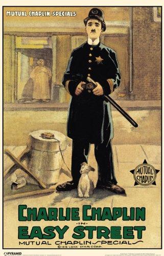 movie poster - Charlie Chaplin in Easy Street