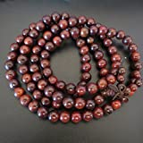 8mm*108 RoseWood(Color is more red) Beads Tibet Buddhist Hand Made Prayer Mala