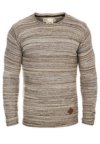 SOLID Menghi - Maglione da Uomo, taglia:XL;colore:Dune (5409)